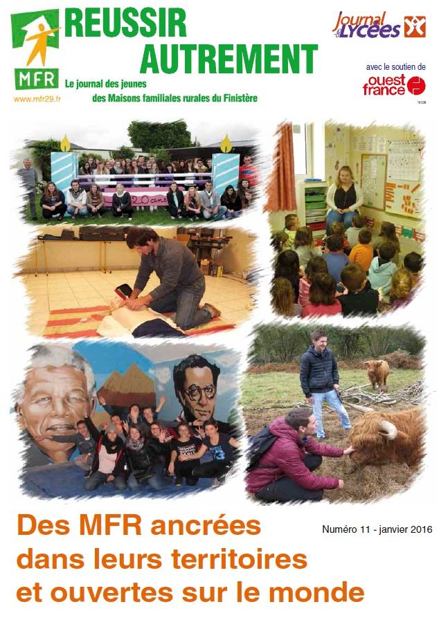 Le journal des MFR11 Formations en alternance