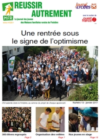 le journal des MFR 13 Formations en alternance